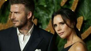 David und Victoria Beckham (Bild: AFP )