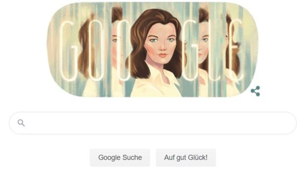 """Google erinnert jeden Tag mit einer künstlerischen Adaption des Firmenlogos (""""Doodle"""") an große Persönlichkeiten und Geschehnisse aus der Weltgeschichte. (Bild: Google)"""