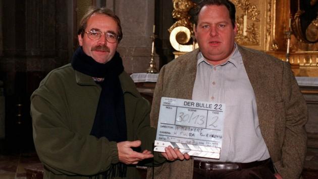 Walter Bannert, Ottfried Fischer (Bild: Hubert Mican / picturedesk.com)