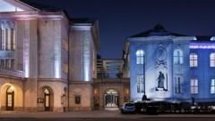 Visualisierung zeigt den geplanten Foyer-Trakt des Mozarteums (Bild: Hermann Schnoell)