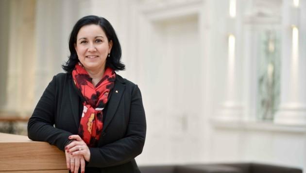 Stefanie Christina Huber, Vorstandsvorsitzende Sparkasse OÖ (Bild: Wenzel Markus)