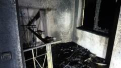 In diesem Zimmer sollte Sergej E. sterben (Bild: Berufsfeuerwehr Linz)