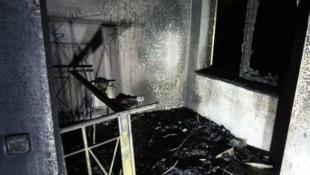 In diesem Zimmer sollte Sergej E. sterben. (Bild: Berufsfeuerwehr Linz)