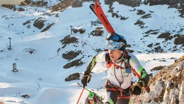 Skibergsteiger Armin Höfl ist schwer verletzt (Bild: Höfl)