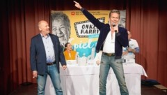 """""""Onkel Harry""""-Hauptdarsteller P. Faerber und A. Haider (Bild: KWP Morianz)"""