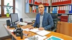 Der wiedergewählte Obmann Franz Jirka. (Bild: Christof Birbaumer)