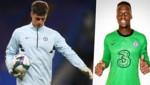 Kepa Arrizabalaga (li.) und Edouard Mendy (Bild: APA/AFP/POOL/NEIL HALL, FC Chelsea)