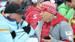 Beim Weltcup in Saalbach im Februar war ÖSV-Boss Schröcksnadel in regen Diskussionen im Glemmtal. Bei der Video-WM-Vergabe wird er von Innsbruck aus mitfiebern. (Bild: Tröster Andreas)