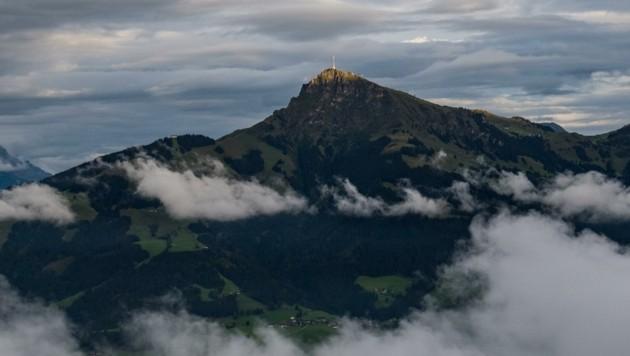 Die Wolken um das Kitzbüheler Horn werden dichter. (Bild: zeitungsfoto.at/Liebl Daniel)