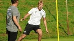 Sturms Niklas Geyrhofer (r.) hat im Derby eine Rechnung offen (Bild: Sepp Pail)