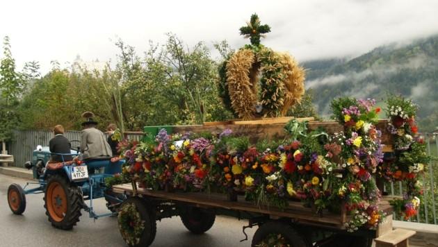 Die traditionellen Erntedank-Prozessionen gibt es heuer kaum (Bild: Honorar)