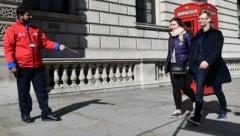 Die Behörden in Großbritannien registrierten die höchsten Fallzahlen seit Beginn der Pandemie. (Bild: AFP)