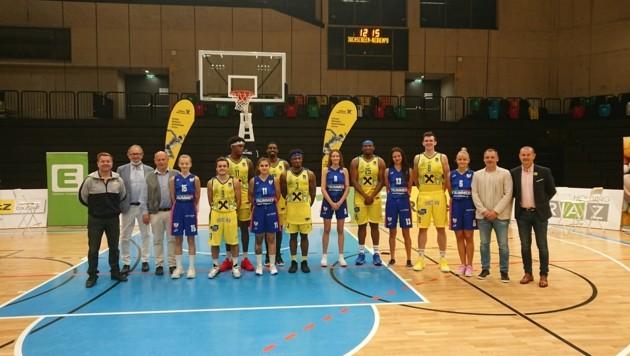Mit Herren und Damen im Oberhaus des Basketball-Sports: UBSC Graz greift an. (Bild: Kallinger)