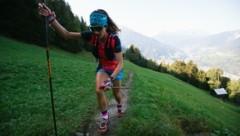 Die Sportler hatten keine Zeit, die schöne Aussicht bei Obtarrenz in das Naturjuwel Gurgltal zu genießen. Eigentlich schade! (Bild: Klaus Fengler)
