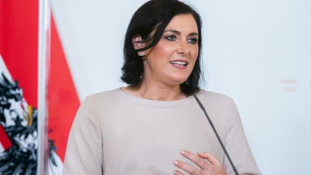 Tourismusministerin Elisabeth Köstinger (ÖVP) (Bild: APA/GEORG HOCHMUTH)