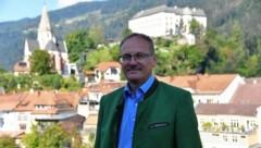Der Murauer Bezirkshauptmann Florian Waldner. (Bild: Kevin Geißler)