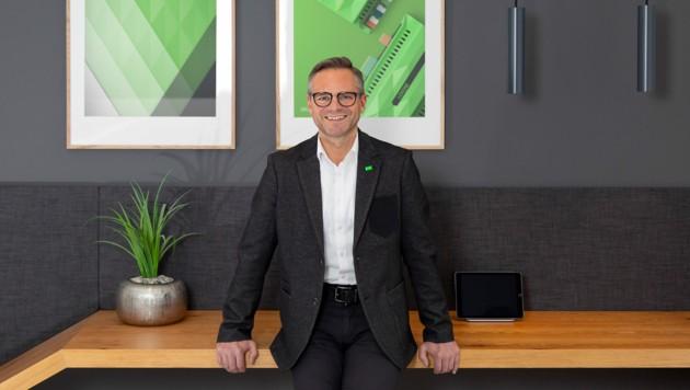 Geschäftsführer Rüdiger Keinberger (Bild: Loxone)