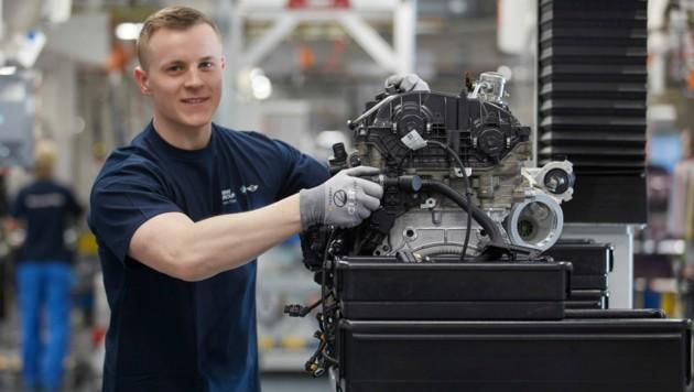 In der größten Antriebsproduktion von BMW sind rund 4500 Mitarbeiter tätig. (Bild: BMW Motoren Steyr)