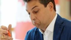 """FPÖ-Wien-Chef Dominik Nepp: """"Das war schon knifflig."""" (Bild: Klemens Groh)"""