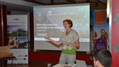 Maria Legner vom Klimabündnis Tirol begleitet parallel zum Pitztal noch zwei KLAR-Regionen in spe in den Geburtsstunden. (Bild: Daum Hubert)