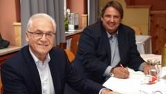 Helmut Leitenberger und Josef Muchitsch (Bild: Anton Barbic)