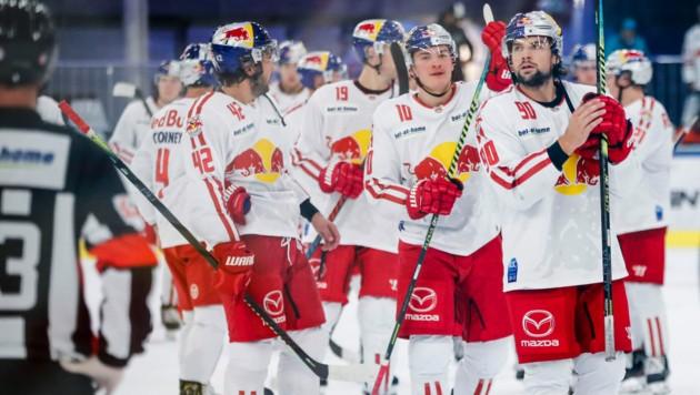 Die Eisbullen gewannen in Dornbirn.
