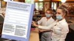 Ab Montag müssen Gäste in Wiener Lokalen ein Kontaktdatenformular ausfüllen. (Bild: Martin Jöchl, APA/Stadt Wien, Krone KREATIV)