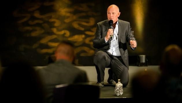 Erfolgreich beim Speaker-Slam in Berlin: Norbert Waldnig. (Bild: Dominik Pfau)