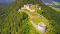 Die Burgruine Ehrenberg (Bild: Verein Burgenwelt Ehrenberg)