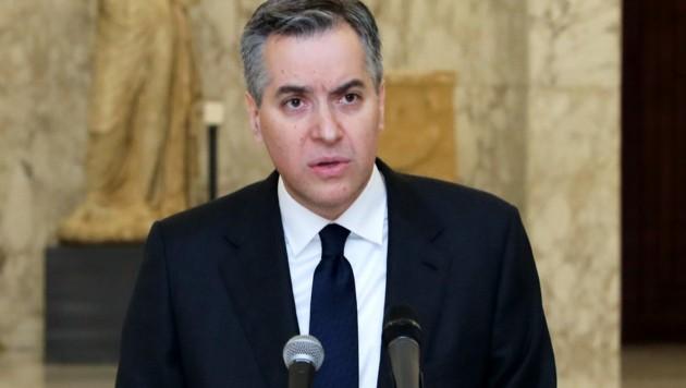 Libanons designierter Premier Mustafa Adib gab seinen Rücktritt bekannt. (Bild: AFP)