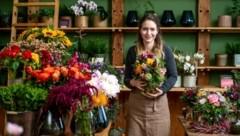 Katrin Freitag aus Ried am Riederberg ist einer der Nachwuchs-Stars der Blumen-Szene. (Bild: Imre Antal)