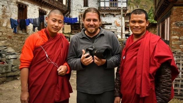 Fotograf Pascal Violo (Mitte) ist zumeist in der ganzen Welt unterwegs. Im Corona-Jahr bleiben Aufträge aus. (Bild: Pascal Violo)