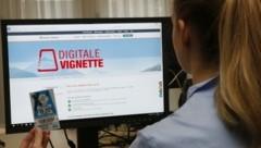 Die Digitale Vignette kann per Mausklick bestellt werden (Bild: Jöchl Martin)