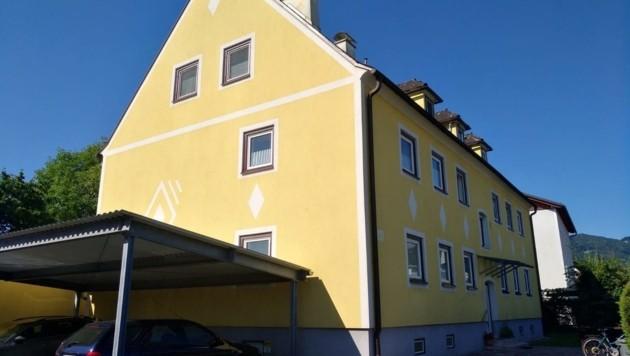 In diesem Haus lebten Opfer und Angeklagter (Bild: Krisper Monika)