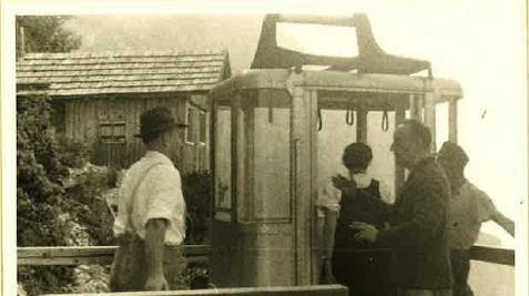 Die Seilbahn wurde 1955 eröffnet. (Bild: Eisriesenwelt)