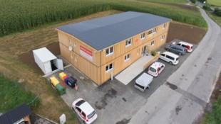 Das Asylquartier im oberösterreichischen Altenfelden (Bezirk Rohrbach) (Bild: APA/WERNER KERSCHBAUMMAYR)