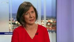 """Vizebürgermeisterin Birgit Hebein wünscht sich, dass Länder und Bund in der Corona-Krise mehr miteinander reden und sich nicht über die Medien ausrichten, """"was alles zu tun ist"""". (Bild: ORF)"""