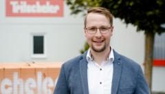 Geschäftsführer Vinzenz Stocker (34) (Bild: Tritscheler)