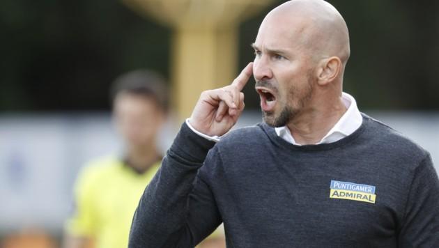 Sturm-Coach Christian Ilzer (Bild: APA/ERWIN SCHERIAU)