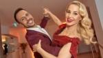 Silvia Schneider mit Tanzpartner Danilo Campisi (Bild: Starpix / Alexander Tuma)
