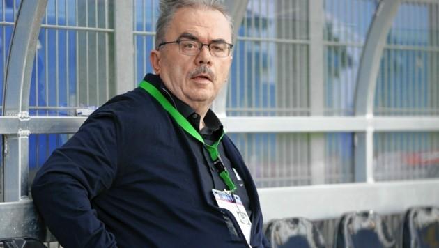 Woher hatte Martin Pucher sein Geld? Unter anderem habe er über Jahre erfolgreich Toto gespielt, sagte der Ex-Boss des SV Mattersburg und der Bundesliga in seiner Vernehmung. Nun gibt es gegenteilige Berichte. (Bild: GEPA Pictures/Walter Luger)