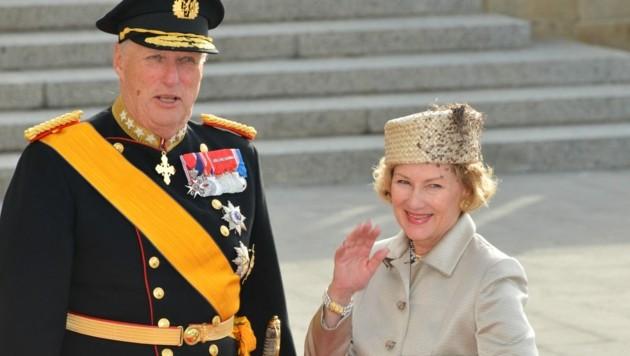 König Harald und Königin Sonja von Norwegen (Bild: www.viennareport.at)