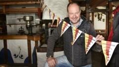 Gamskogelhüttenwirt Peter Aschbacher kann seine Gäste in zwei Bundesländern bedienen (Bild: Holitzky Roland)