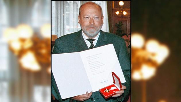 Dr. Peter Strasser, geehrt und allseits beliebt. (Bild: Pressefoto Votava)