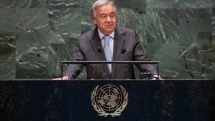 """UN-Generalsekretär Antonio Guterres: """"Wir können diese Herausforderung überwinden"""" (Bild: AFP)"""