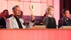 """Die """"Dancing Stars""""-Juroren Dirk Heidemann, Karina Sarkissova und Balazs Ekker (Bild: ORF)"""
