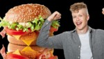 "Der 17-jährige Villacher Luca Katholnig hat den ""Deluxe Chicken"" kreiert. (Bild: McDonalds )"