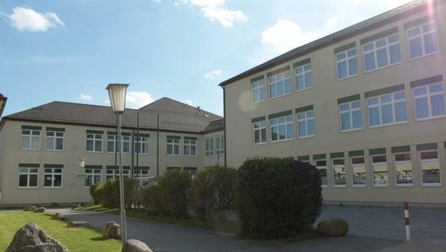 Das Areal der Volksschule in Schrems (Bild: Volksschule Schrems)