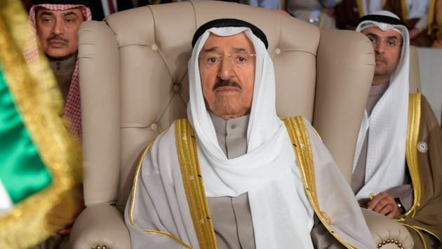 Der Emir im Jahr 2019 (Bild: Fethi Belaid/Pool Photo via AP)