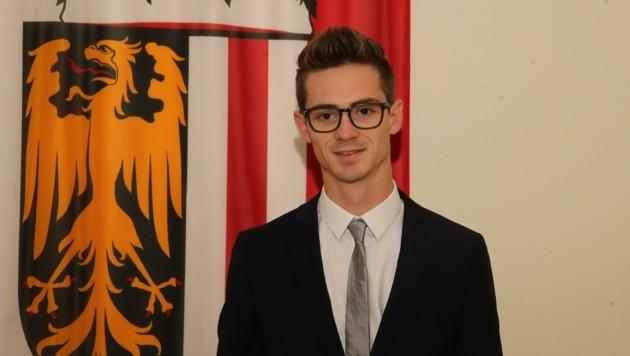 """Richard Scheiblehner ist der jüngste """"Boss"""" des Landes. (Bild: Kerschbaummayr Werner)"""